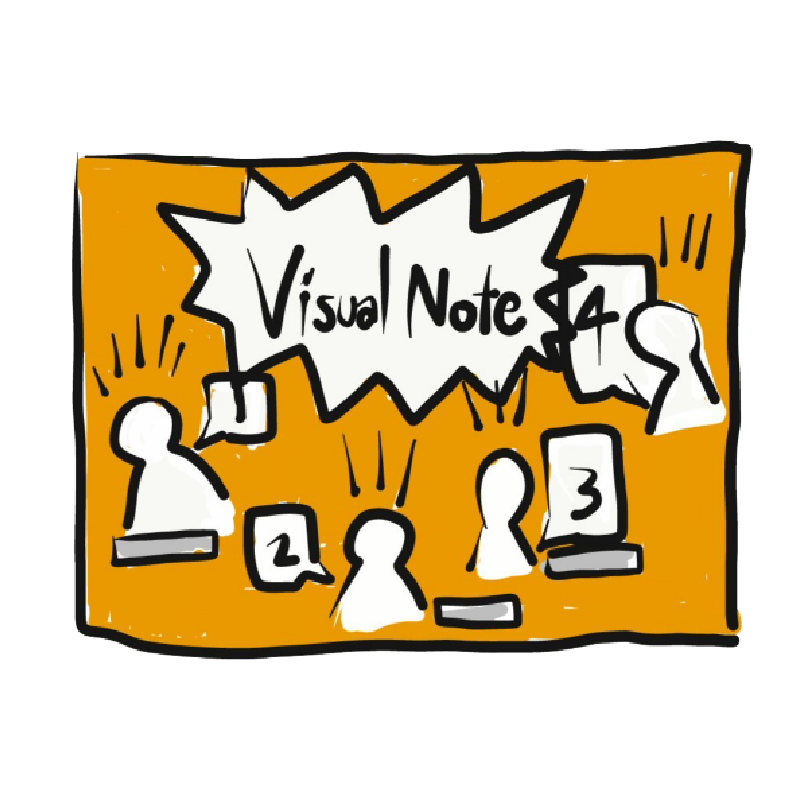 Visual note solutions by ALERT Learning and Consultant อบรม สัมนา หลักสูตร Soft skills Productivity